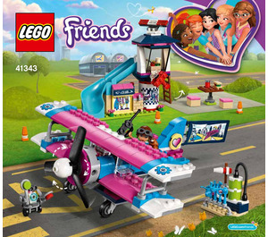 LEGO Heartlake City Airplane Tour Set 41343 Instructions