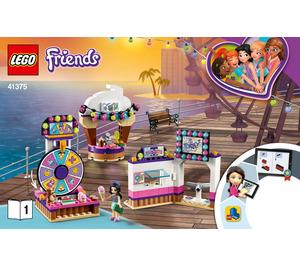 LEGO Heartlake City Amusement Pier Set 41375 Instructions