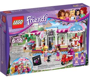 LEGO Heartlake Cupcake Cafe Set 41119 Packaging