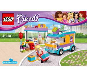 LEGO Heartlake Gift Delivery Set 41310 Instructions