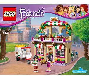 LEGO Heartlake Pizzeria Set 41311 Instructions