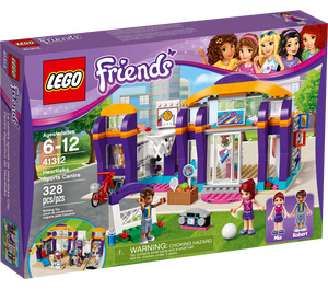 LEGO Heartlake Sports Centre Set 41312 Packaging