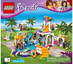 LEGO Heartlake Summer Pool Set 41313 Instructions