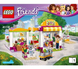 LEGO Heartlake Supermarket Set 41118 Instructions