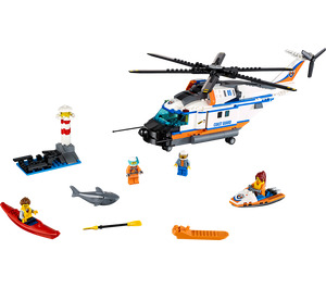 LEGO Heavy-Duty Rescue Helicopter Set 60166