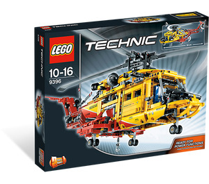 LEGO Helicopter Set 9396 Packaging