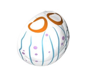 LEGO Helmet Bubble Half with Jellyfish Print (47514)