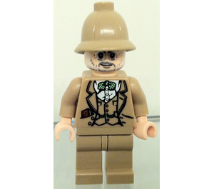 LEGO Henry Jones Senior (Dark Tan Hat) Minifigure