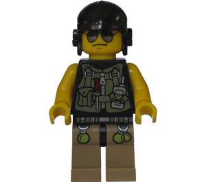 LEGO Hero, Driver / Mechanic with Utility Vest Minifigure