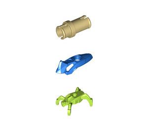 LEGO Hero Factory Lime/Blue Jumper Minifigure