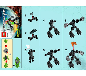 LEGO Hero Robot Set 40116 Instructions