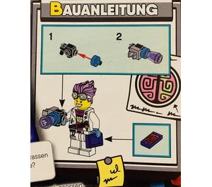LEGO Hidden Side J.B. Foil Bag Set 792006 Instructions
