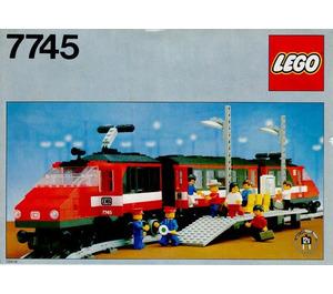LEGO High-Speed City Express Passenger Train Set 7745