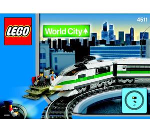 LEGO High Speed Train Set 4511 Instructions | Brick Owl - LEGO Marketplace