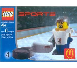 LEGO Hockey Player, White Set 7919
