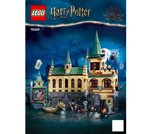 LEGO Hogwarts Chamber of Secrets Set 76389 Instructions