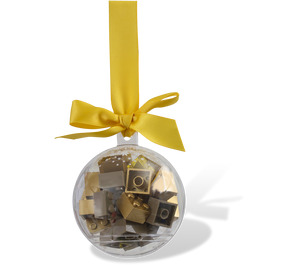 LEGO Holiday Bauble with Gold Bricks (853345)