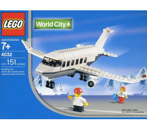 LEGO Holiday Jet (Snowflake Version) Set 4032-9