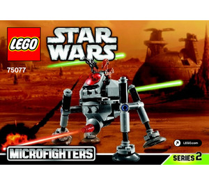 LEGO Homing Spider Droid Set 75077 Instructions