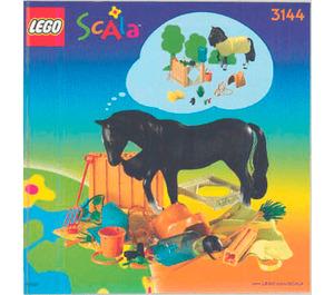 LEGO Horse Stable Set 3144 Instructions