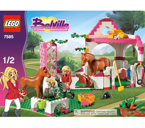 LEGO Horse Stable Set 7585 Instructions