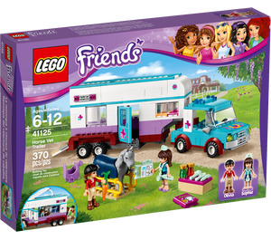 LEGO Horse Vet Trailer Set 41125 Packaging