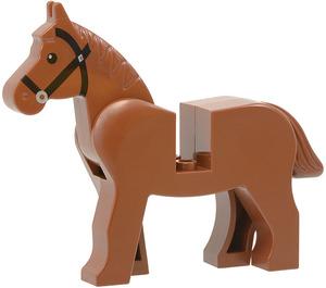 LEGO Pferd mit Schwarz Eyes und Schwarz Bridle (75998 / 75998)