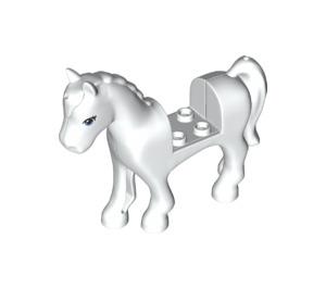 LEGO Horse with Blue Eyes and Black Eyelashes (45713)