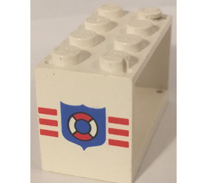 LEGO Hose Reel 2 x 4 x 2 Holder with Decoration (4209)