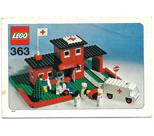LEGO Hospital Set 363-1 Instructions