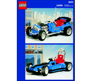 LEGO Hot Rod Set 10151 Instructions
