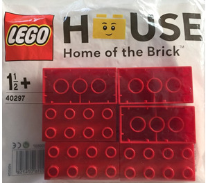 LEGO House 6 DUPLO Bricks Set 40297