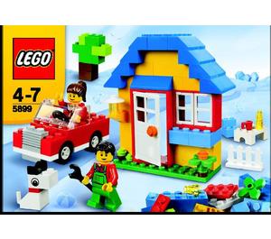 LEGO House Building Set 5899 Instructions