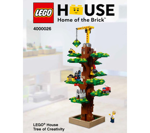 LEGO House Tree of Creativity Set 4000026 Instructions