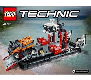 LEGO Hovercraft Set 42076 Instructions