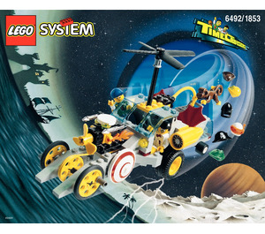 LEGO Hypno Cruiser Set 6492 Instructions