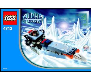 LEGO Ice Blade Set 4743 Instructions