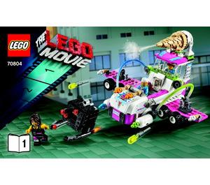 LEGO Ice Cream Machine Set 70804 Instructions