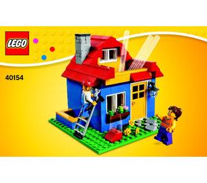 LEGO Iconic Pencil Pot Set 40154 Instructions