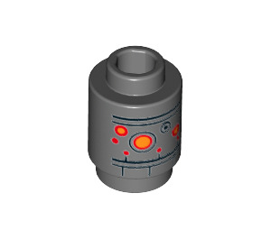 LEGO IG-88 Brick Round 1 x 1 with Open Stud (33535)