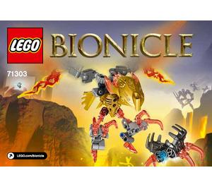 LEGO Ikir - Creature of Fire Set 71303 Instructions