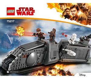 LEGO Imperial Conveyex Transport Set 75217 Instructions