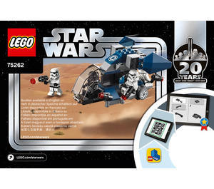 LEGO Imperial Dropship – 20th Anniversary Edition Set 75262 Instructions