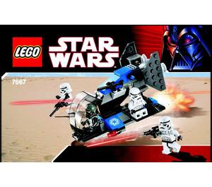 LEGO Imperial Dropship Set 7667 Instructions