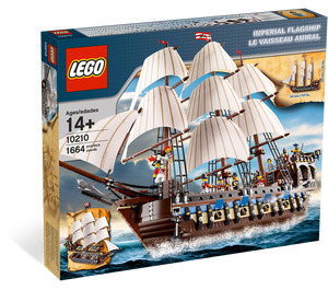 LEGO Imperial Flagship Set 10210 Packaging