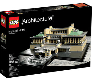 LEGO Imperial Hotel Set 21017 Packaging