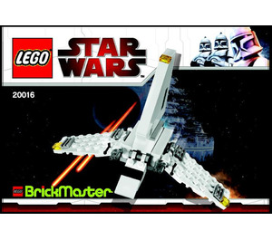 LEGO Imperial Shuttle Set 20016 Instructions