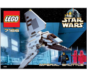 LEGO Imperial Shuttle Set 7166 Instructions