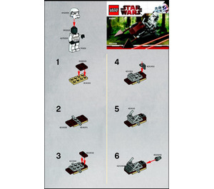 LEGO Imperial Speeder Bike Set 30005 Instructions