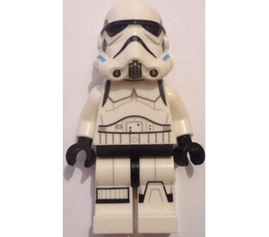 LEGO Imperial Stormtrooper with Printed Legs and Dark Azure Helmet Vents Minifigure